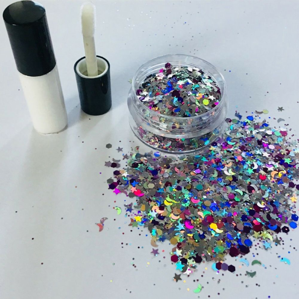FESTIVAL GLITTER KIT - MOONSHINE